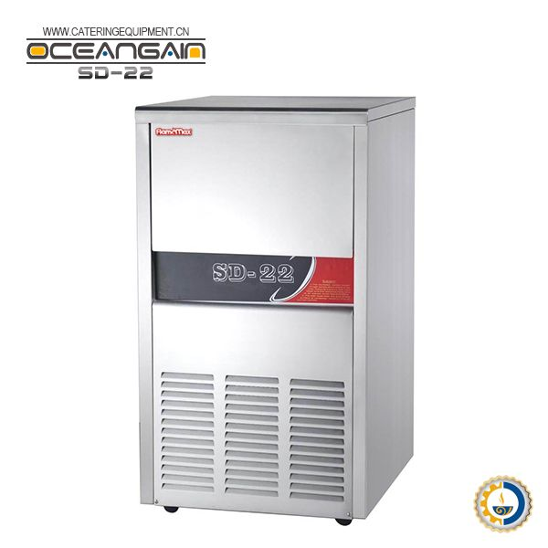 SD-22 Stainless Steel Cube Industrial Ice Maker