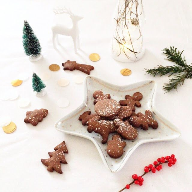 SCANDIMAGDECO Le Blog: Sablés de Noël au chocolat