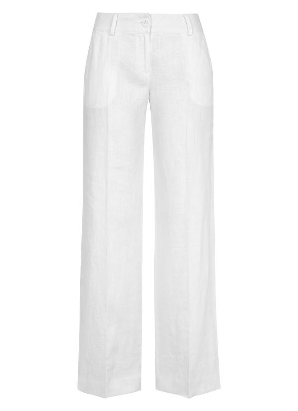 Linen Trouser in White
