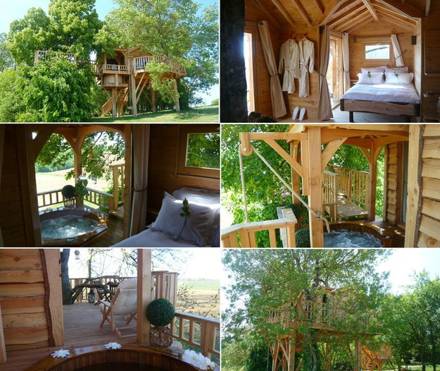 A day spa   17 Tree Houses For Adults