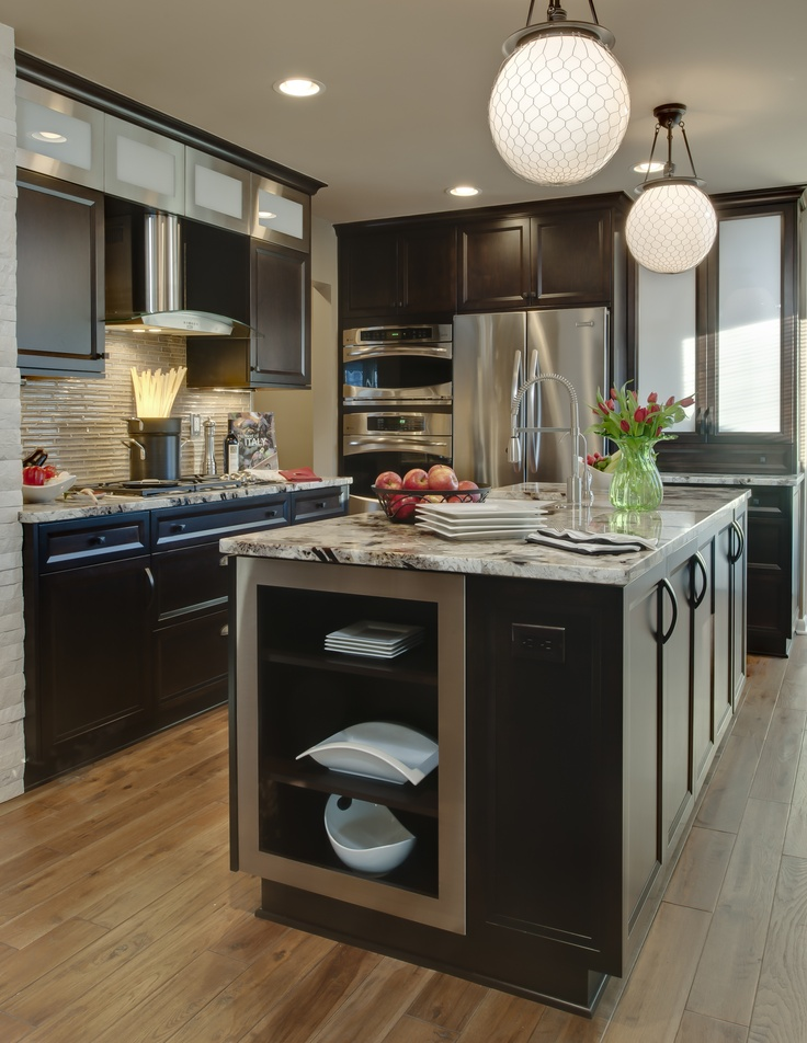 Northville Contemporary Kitchen Remodeling Project Featuring one