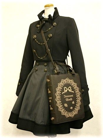 This is a badass book purse, too.