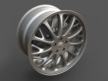 Modeling an Automotive Rim in Rhino V5