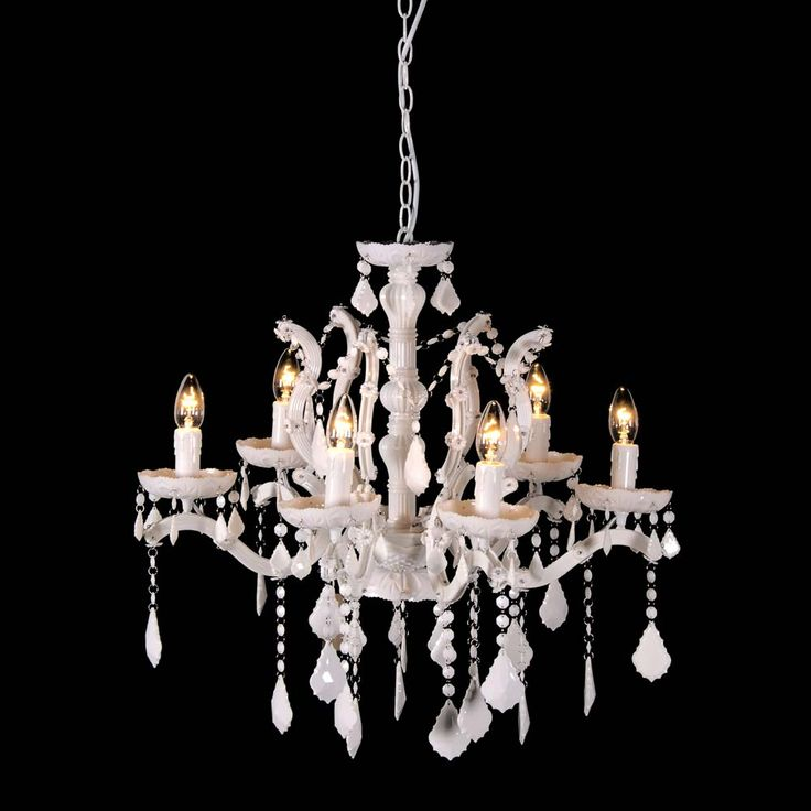 Snow White Chandelier by The French Bedroom Company