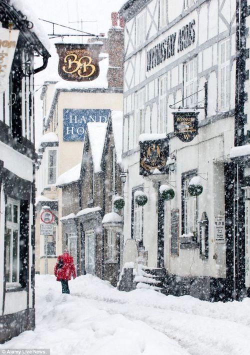 Llangollen, Wales. Beautiful in #winter #travel #Wales