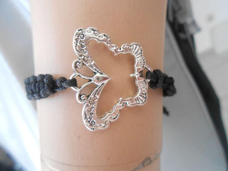 Butterfly Macrame Bracelet. www.highmoda.eu