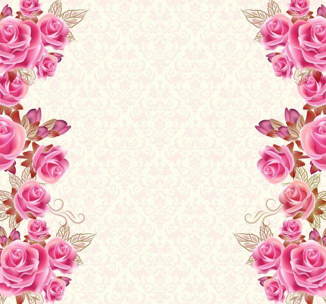 Открытка с цветами в углу, красивую открытку