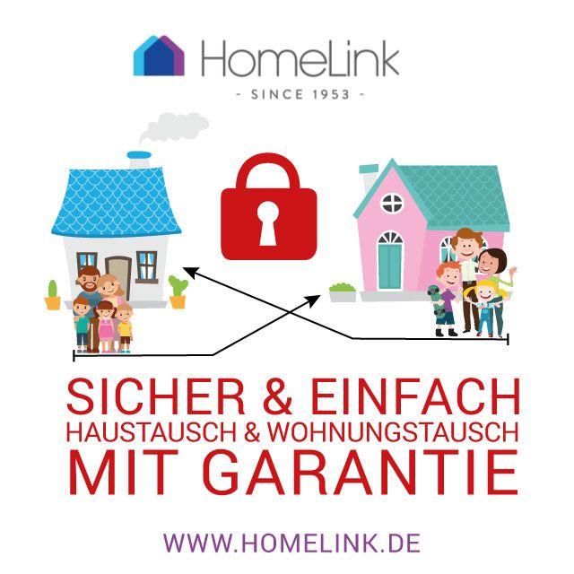 Haustausch & Wohnungstausch ohne Risiko durch doppeltes Garantie System von HomeLink.   Mit Haus und Wohnungstausch von HomeLink können Sie Hunderte von Euros sparen. Tauschen Sie Ihr Haus oder ihre Wohnung und entdecken Sie neue Länder, Städte ob weltweit oder regional, alles ist möglich.    Sparen Sie bares Geld. HomeLink ist die einzige Plattform das eine doppelte Garantie System bietet.    Garantie 1: Wenn ihr Tauschpartner erkrankt und Sie keinen Ersatz finden, tragen wir Ihre…