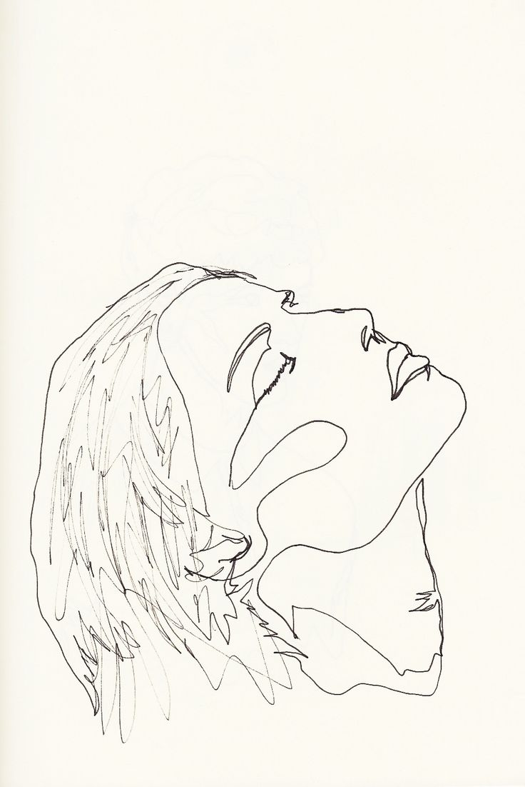 Line Drawing Face Woman : Best simple line drawings ideas on pinterest