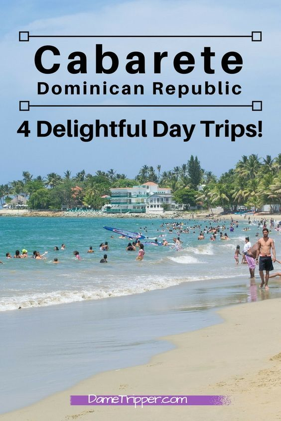 Cabarete is a great place to base yourself in the Dominican, as there are a lot of cool things to do nearby! Follow this guide for day trips, and DIY tips!
