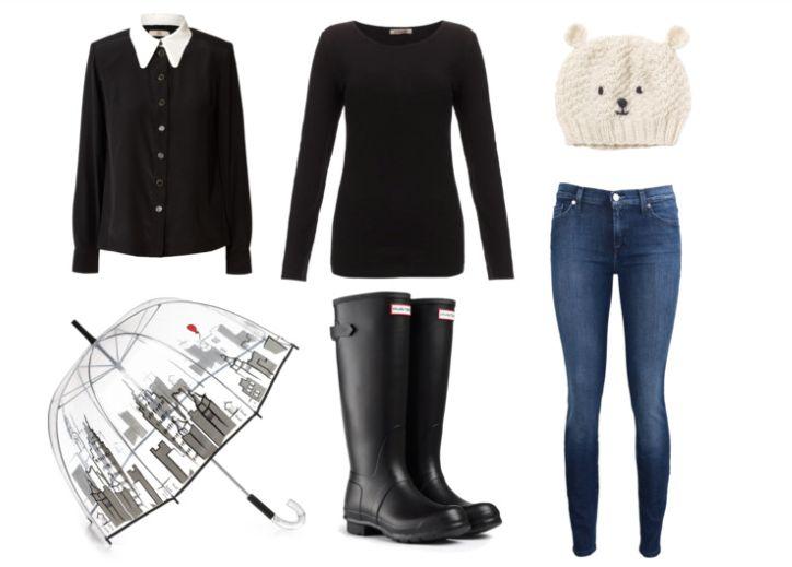 Outfits para la lluvia.