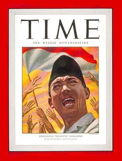 TIME Magazine cover - Soekarno - December 23, 1946