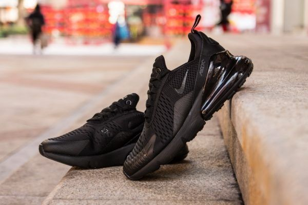 new styles 9a9a0 60eb8 Nike Air Max 270 Triple Black - Exclusive Shoes ...