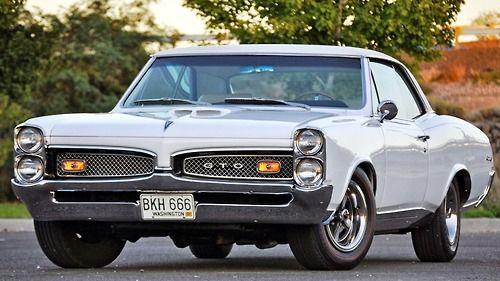Muscle Cars… 1967 Pontiac Tempest GTO