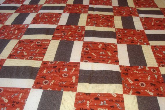 Hey, I found this really awesome Etsy listing at http://www.etsy.com/listing/123062978/country-western-lap-quilt