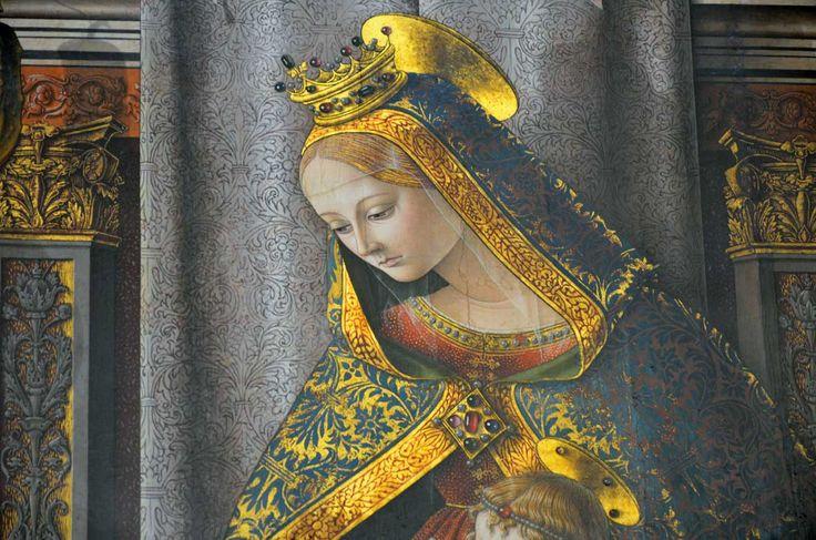 Detail, Carlo Crivelli, Gemaldegalerie Berlin