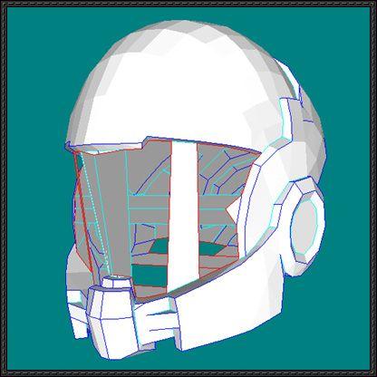 mass effect life size commander shepard helmet