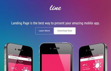 App Landing Page Free Responsive Website Template