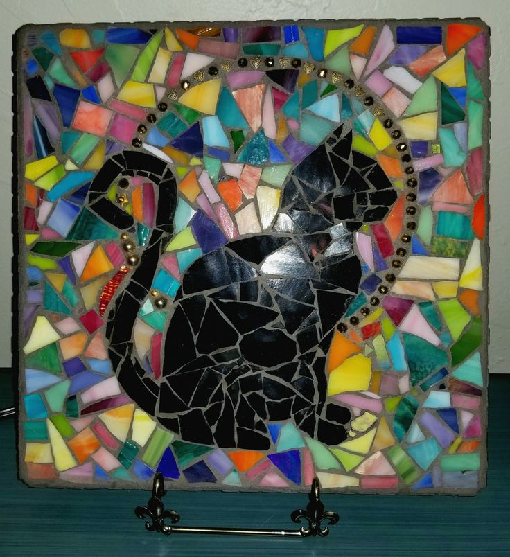 silhouette mosaic mosaics pinterest mosaics. Black Bedroom Furniture Sets. Home Design Ideas