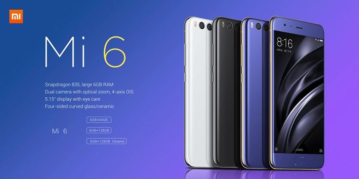 Xiaomi Mi 6, Discount Coupon  from Gearbest  @  $409.99 only !!!  http://www.mobilescoupons.com/coupons-deals/xiaomi-mi-6-discount-coupon-from-gearbest