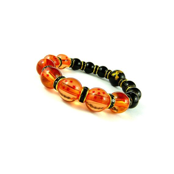 [Dragon Ball Z] Dragon Ball Power Bracelet, Shenron Bracelet, Black and Gold