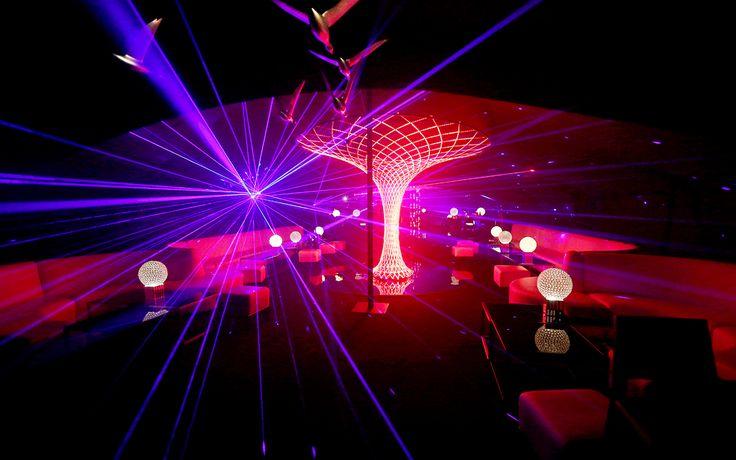 Grey Goose La Nuit des Étoiles Night club design