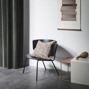 Herman fauteuil Ferm Living zwart | Musthaves verzendt gratis