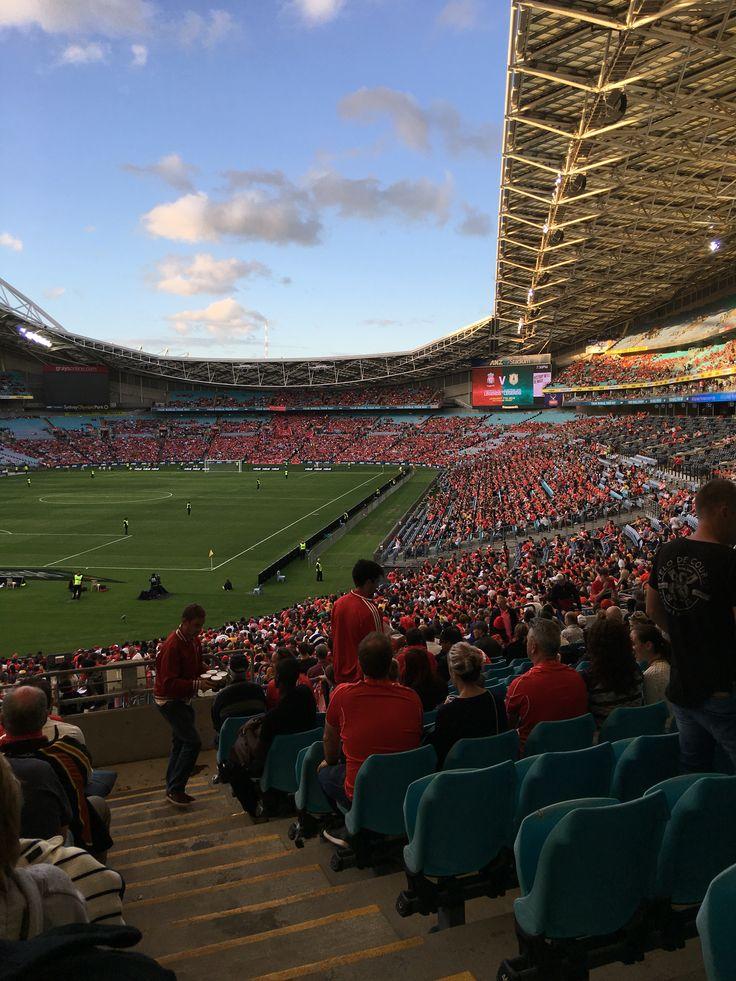 LFC Legends v Australian Legends @anzstadium ⚽️