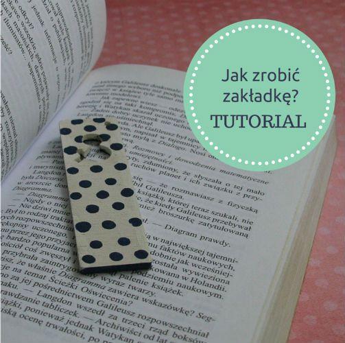 Wszystko co ma kropeczki, jest w tym sezonie niezwykle modne. Dlatego udekoruj tym motywem wiosenną zakładkę do książek i ciesz się miłą lekturą. Zobacz jak zrobić to krok po kroku: http://bit.ly/1PKJCfD :)