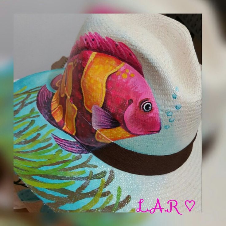 Sombrero Aguadeño pintado a mano con mucho amor Pedidos 3147918159