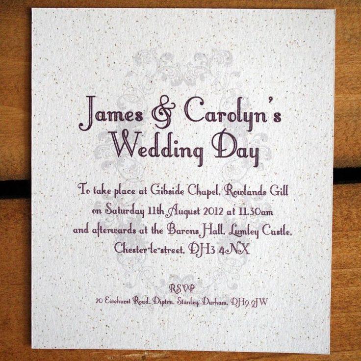 Second Wedding Invitation Wording Exclusive Informal