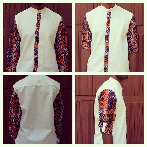 KOB - Temporary Gentlemen Collection - Sample #2 Hit or Miss?    African Fashion T - shirt