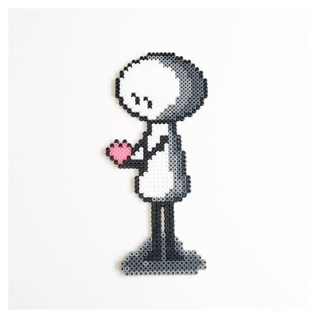 Nonetta - Love perler beads by perler_beads_in_my_heart