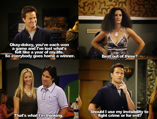 Chandler Bing - Invisible