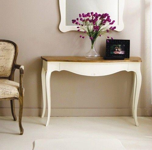 Consola vintage blanca mai consolas vintage muebles - Muebles de entrada vintage ...