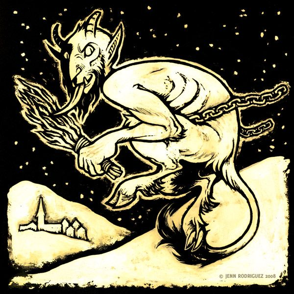 Krampus by grungepuppy.deviantart.com