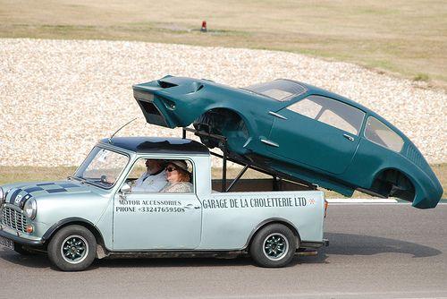 Leyland Mini Pickup 1978 and Mini Marcos Body - Fifty Years of the Mini