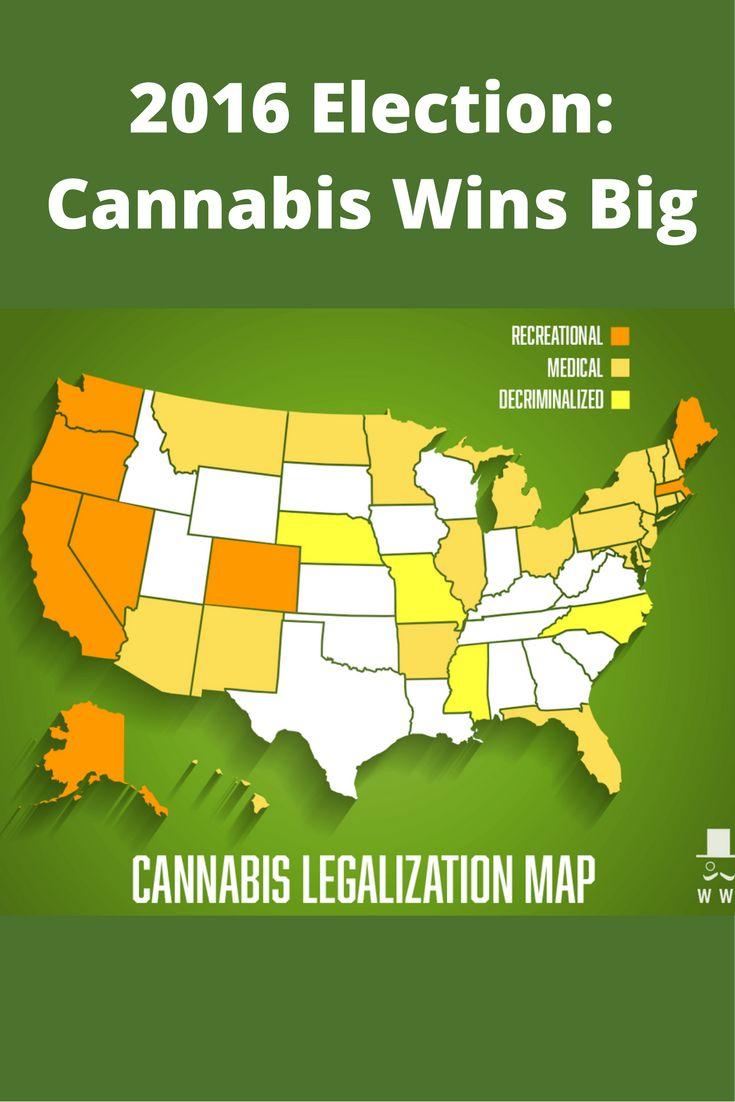 2016 Election: Cannabis Wins Big