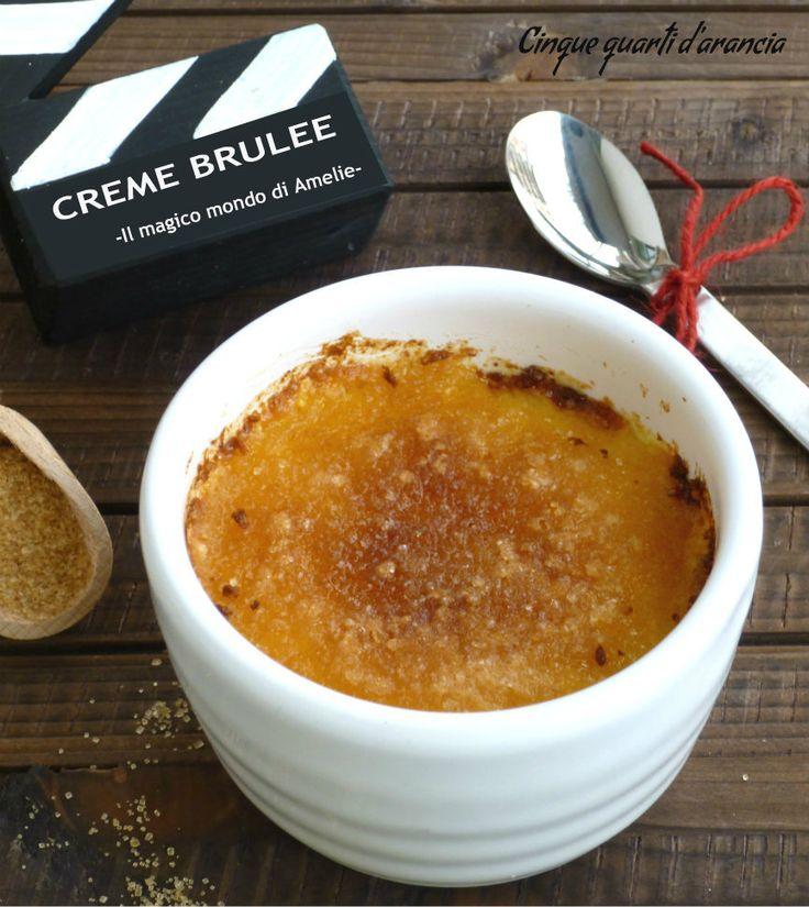 """La creme brulee è un favoloso dolce al cucchiaio, semplice da preparare e davvero molto buono. Anche questa ricetta fa parte dello speciale """"Ciak si mangia"""