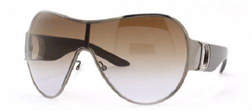 DIOR I LOVE DIOR 1 Ladies Womens Oversized Shield Sunglasses SILVER BROWN VIOLET #DIOR