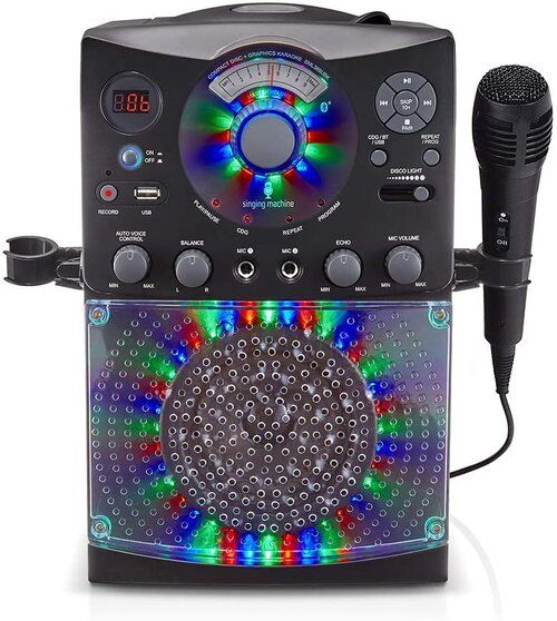 10 Ways To Take Your Tiktok Birthday Party To The Next Level In 2021 Singing Machine Karaoke Karaoke System Led Disco Lights