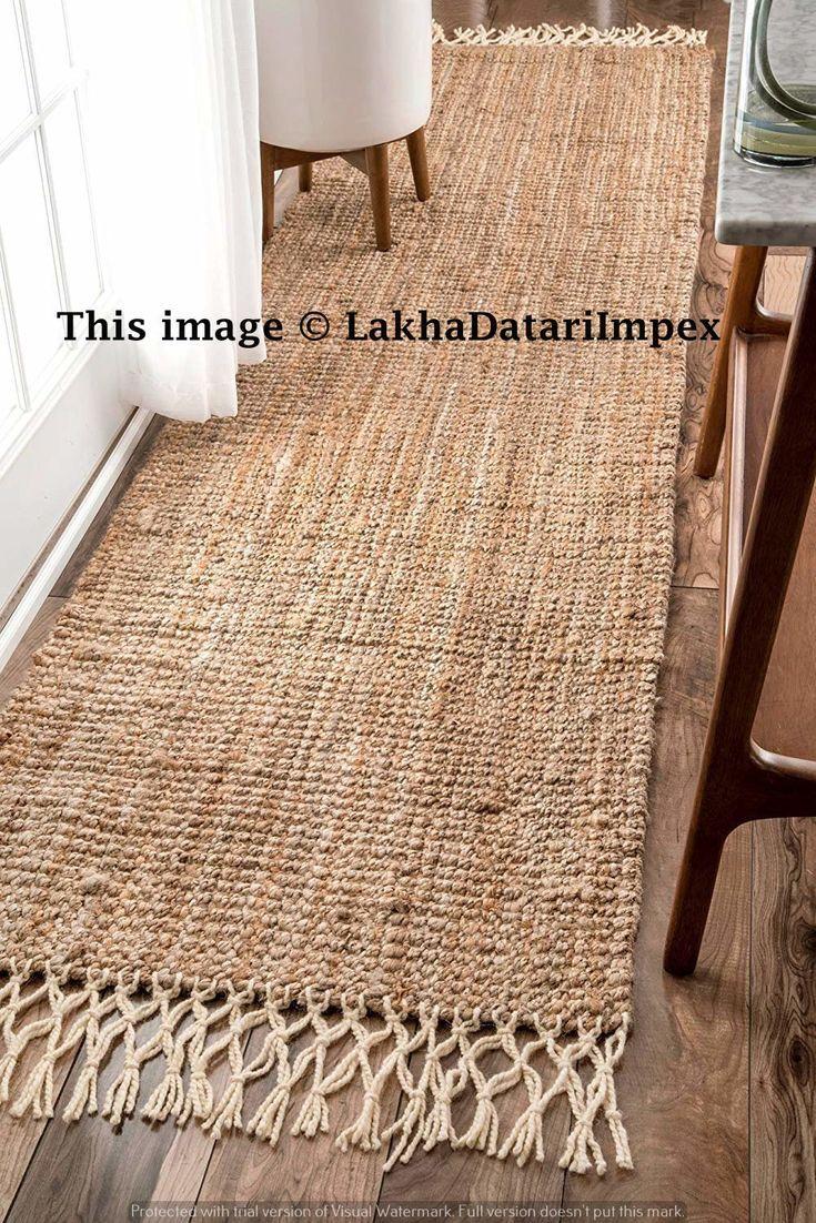 Braided Cotton Runner Rug