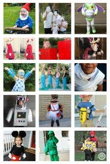 20 {Easy} Homemade Costumes for Kids @jessbmorgan & @lynseybond