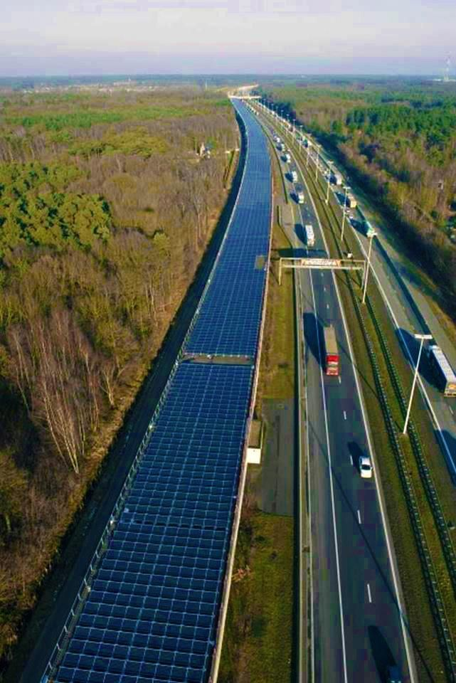 "...the ""Solar Tunnel"", is the first of its kind in Europe in that it is the first time the railway infrastructure has been used to generate green energy. The ($21.5 million) project will supply 3300 MWh of electricity annually, enough to power 4,000 trains."