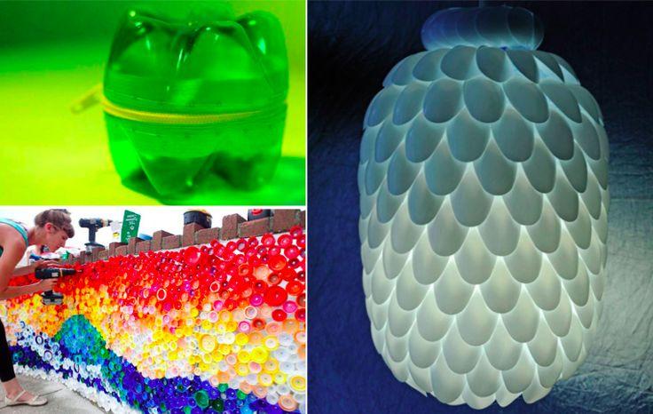 17 manières originales de recycler vos bouteilles en plastique - Des idées