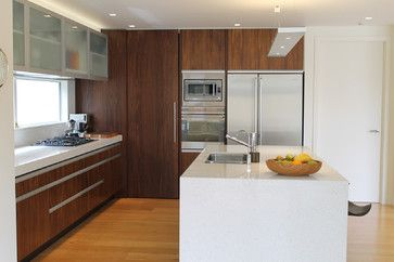 Auckland Contemporary Kitchen Design Ideas, Pictures, Remodel and Decor