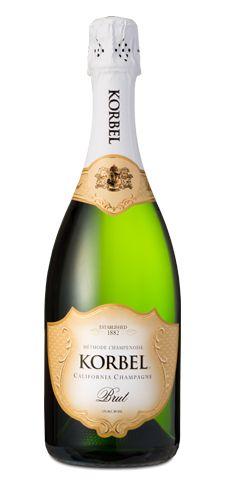 My fave champagne Korbel Brut #morninglavender #valentinesday