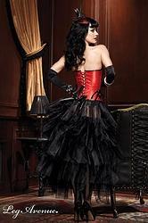 "BURLESQUE JUPE ""EMBUSCADE""  http://www.prod4you.com/#!collection-lingerie-burlesque/coku"