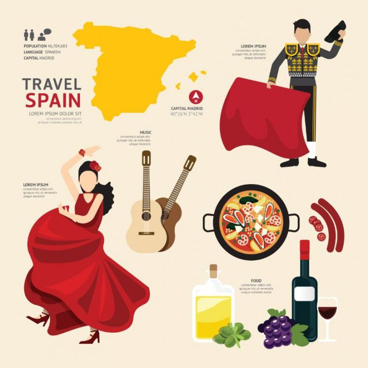 Travel Concept Country Landmark Y (Travel Spain)