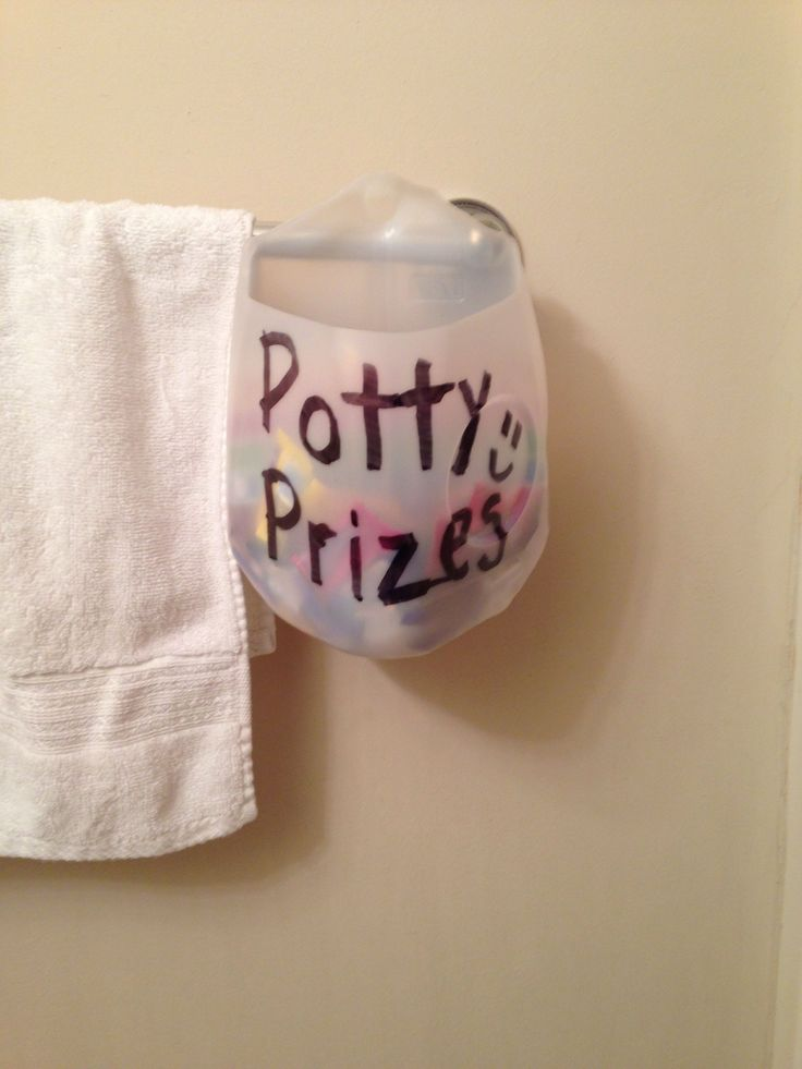 For potty training
